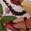 Thumbnail: Tereza Flat/ Burgundy/ Nude/ burgundy knot