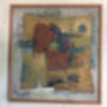 original mid century painting