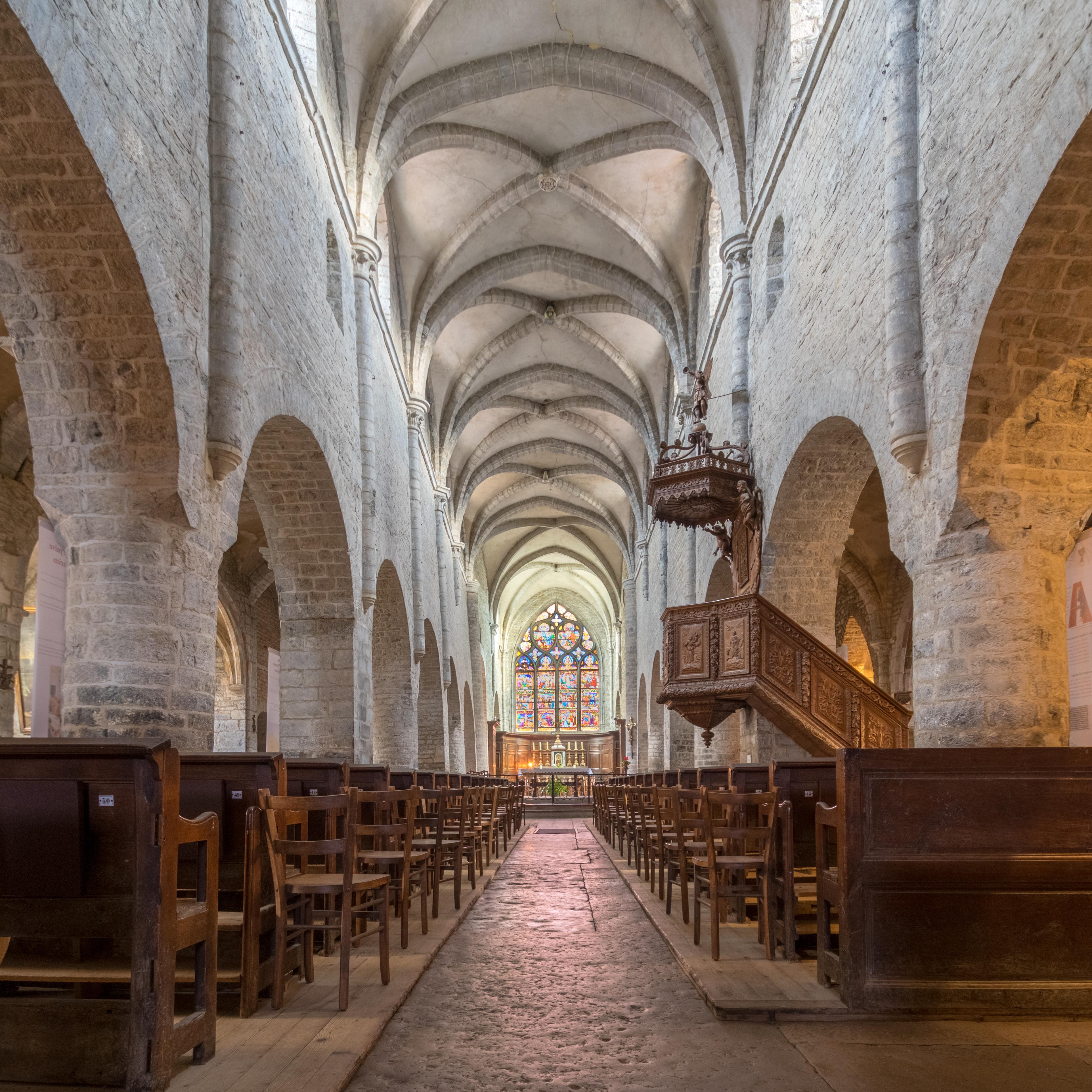 Eglise Saint Just à Arbois (39)