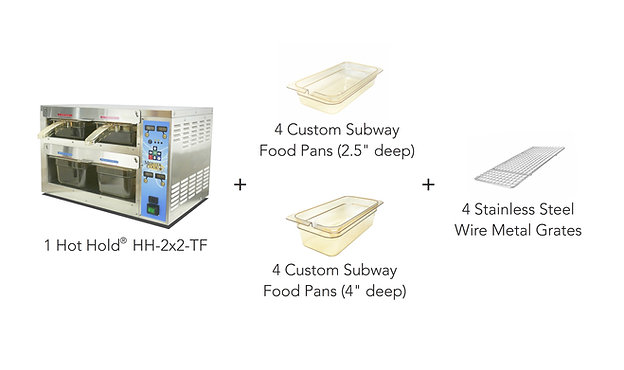 SUBWAY RECOMMENDED  Hot Hold® TF Starter Kit