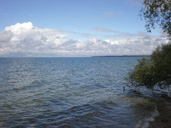 The shore of Lake Simcoe