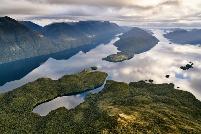 A bird's eye view of the Dusky Sound