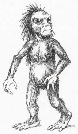 Harry Trumbore's illustration of a kalanoro