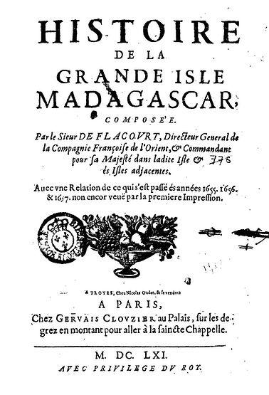 Flacourt's book