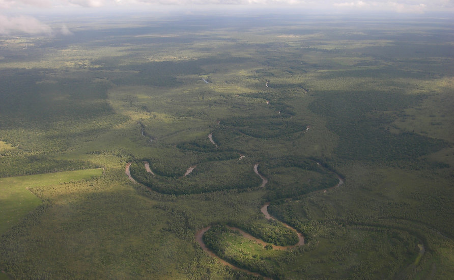 A river in northern Paraguay