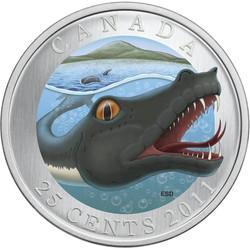 An official Canadian minted coin depicting memphré