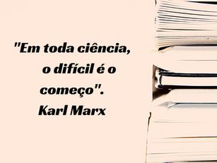 """Questões referentes a """"O Capital"""", de Karl Marx"""