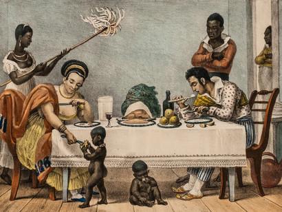 Restos de comida, a fome e a classe dominante escravista do Brasil