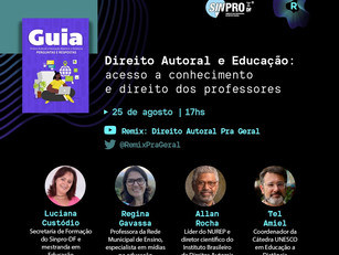 Debate sobre Direito Autoral e Educação