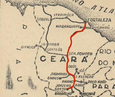 O Ceará em linha reta: espaço e tempo na produção da moderna nação brasileira