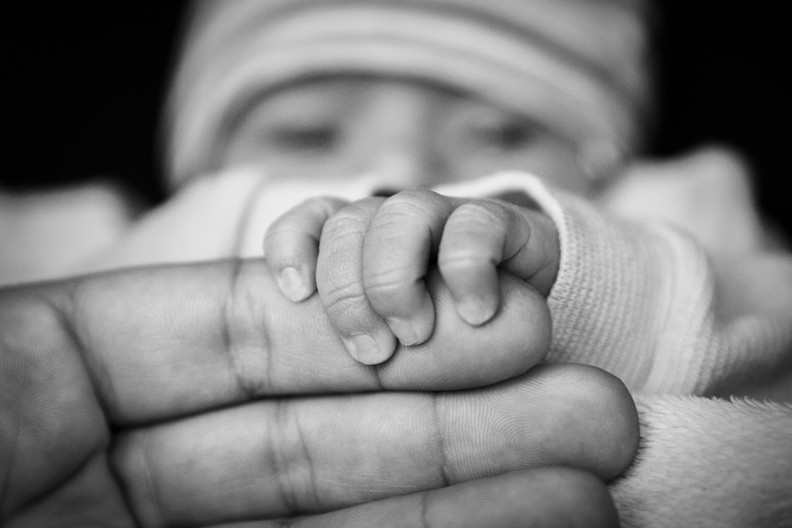 Life Photographic Baby hands Photography Nottingham  studio