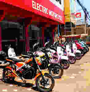 Electric Bikes in Lao PDR