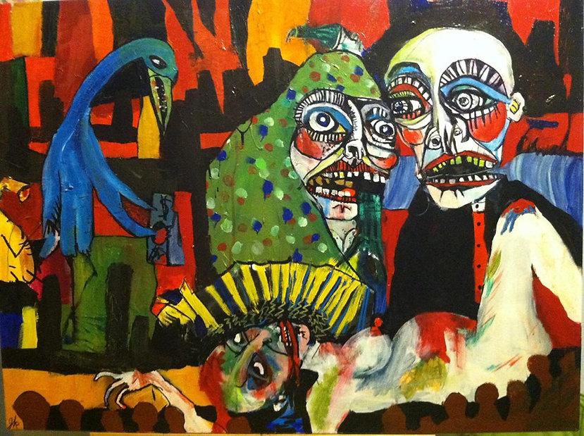 Jessica Koch weird painting