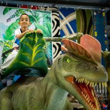 Riding Dinosaurs