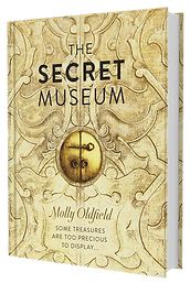 Hardback book of The Secret Museum by Molly Oldfield