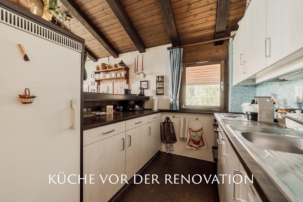 Küche vor der Renovation