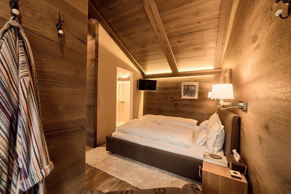 Schlafzimmer nach der Renovation