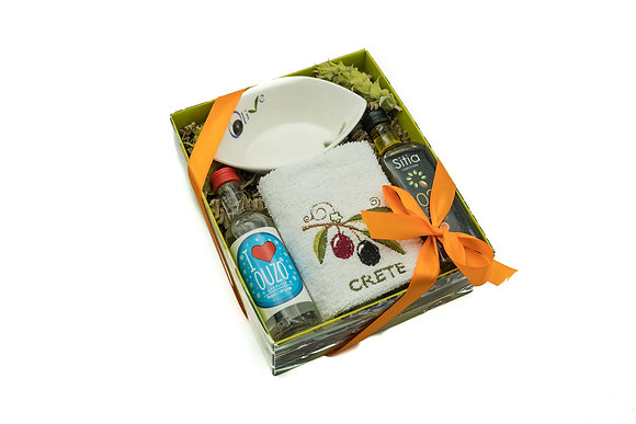 Traditional olive gift box No103