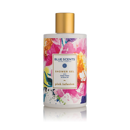 Shower gel Pink Infusion 'Blue Scents' 300ml