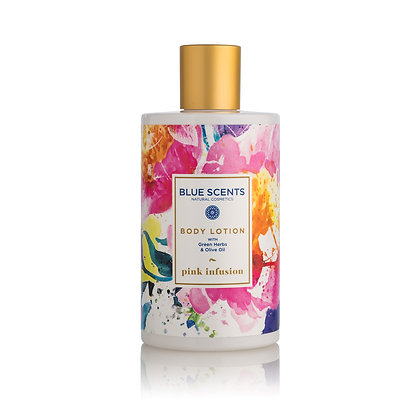 Body lotion Pink Infusion 'Blue Scents' 300ml