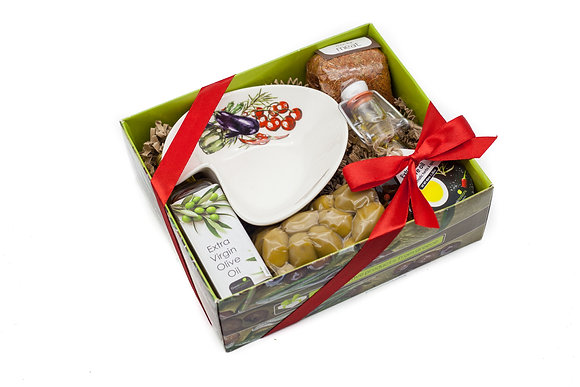 Traditional olive gift box No129
