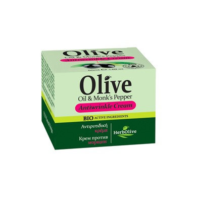 Face Antiwrinkle Cream HerbOlive 50ml