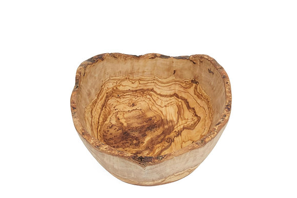 Olive wood bowl natural 26cm