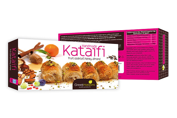 Kataifi mixed fruits & honey 240g