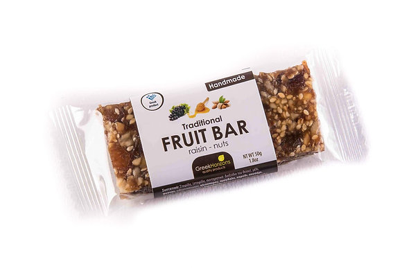 Fruit bar with raisins & nuts 65g
