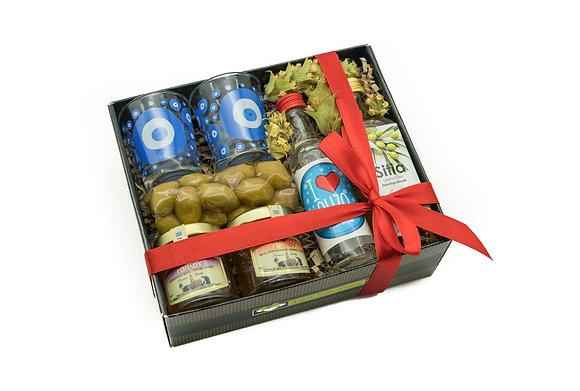 Traditional honey gift box No235