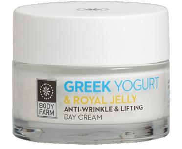 Anti wrinkle & lifting day cream Greek yoghurt & royal jelly 50ml