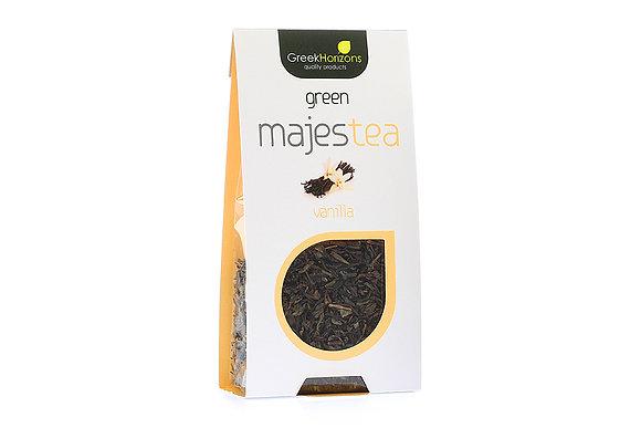 Πράσινο τσάι Majestea βανίλια 50γρ