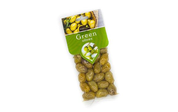 Green olives 100g