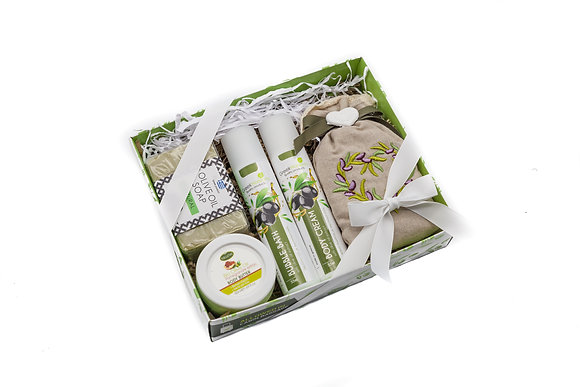 Cosmetic gift box olive No4