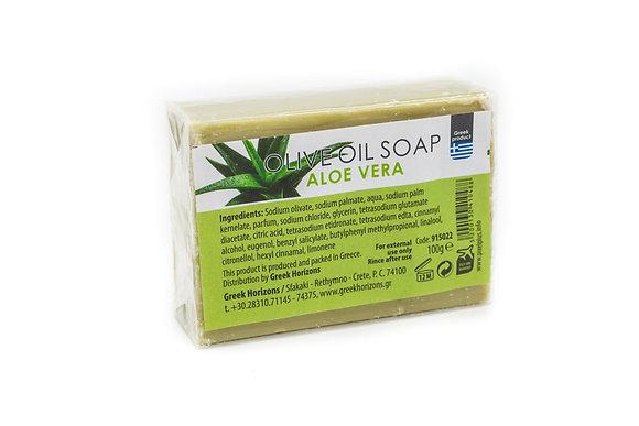 Olive oil soap aloe 100g