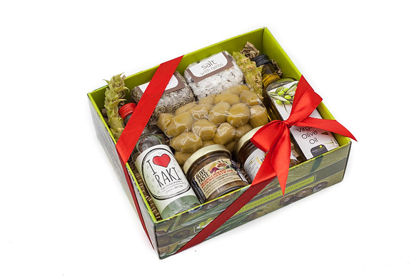 Traditional olive gift box No111