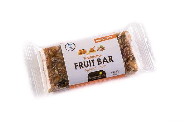 Μπάρα φρούτου με βερίκοκο & ξηρούς καρπούς 65γρ