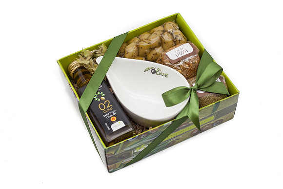 Traditional olive gift box No130