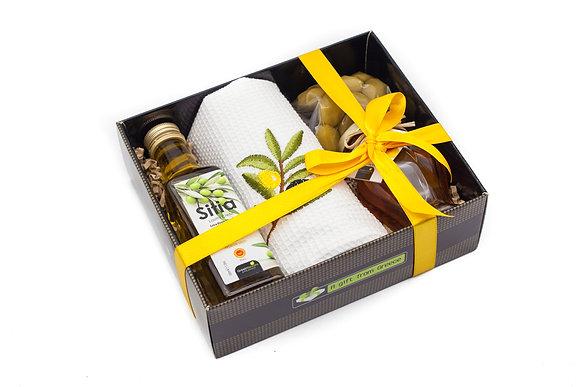 Traditional honey gift box No206