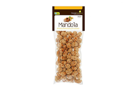 Caramelized almonds with sesame 200g