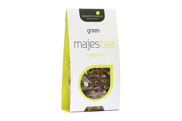 Πράσινο τσάι Majestea Dragon ball 50γρ
