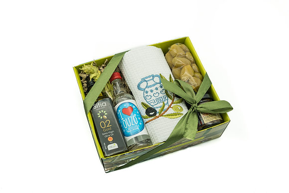 Traditional olive gift box No134