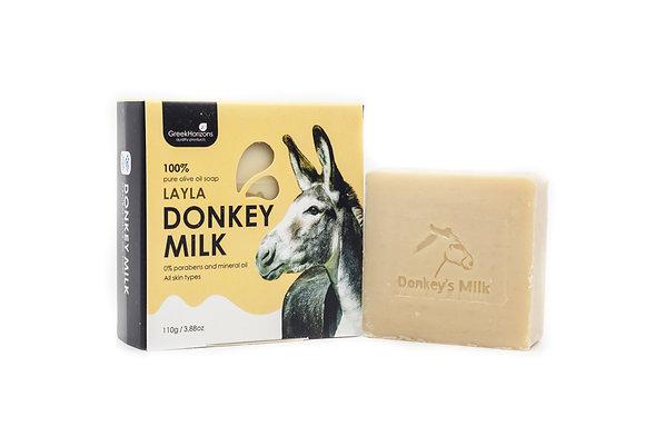 Donkey milk soap Layla 110g