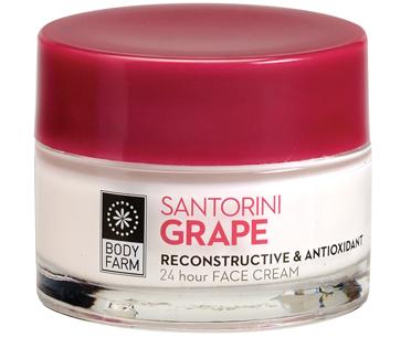 24H face cream Santorini grape Body farm 50ml