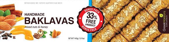 Baklava mixed nuts & honey 145g