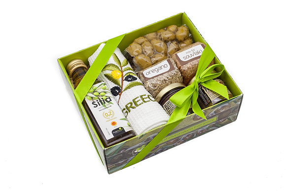 Traditional olive gift box No125
