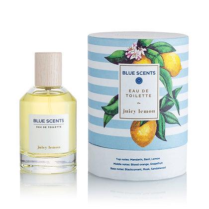 Eau De Toilette Juicy Lemon 'Blue Scents' 100ml