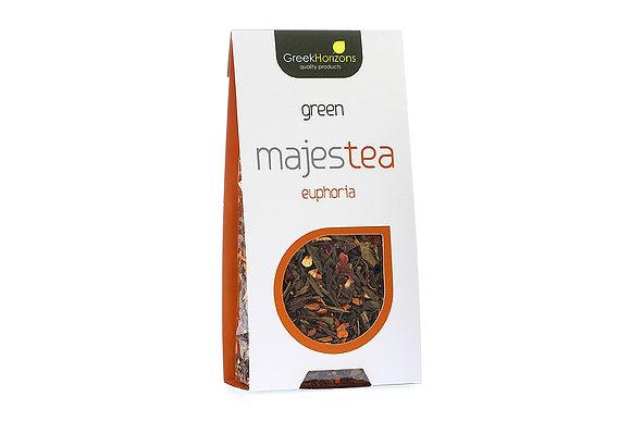 Πράσινο τσάι Majestea Euphoria 55γρ