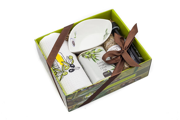 Traditional olive gift box No144