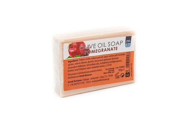 Olive oil soap pomegranate 100g